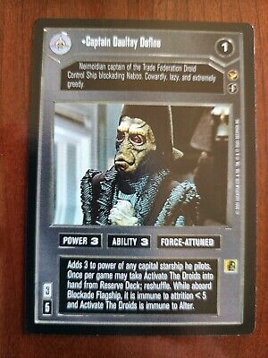 Star Wars CCG Theed Palace TT-9 NrMint-MINT SWCCG