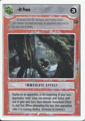 R-Z Star Wars CCG Dagobah Limited Rare Cards Part 3//3