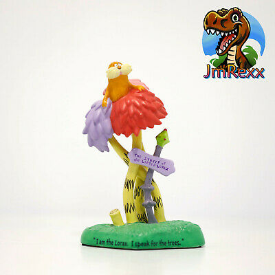 Dr Seuss The Lorax Magnetic Notepad w Sunflowers Daisy Lorax Project Go Green!