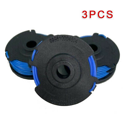 """3pcs For Craftsman 0.065/"""" Dual Line Auto Feed Replacement Spool # 71-99006 BLK"""