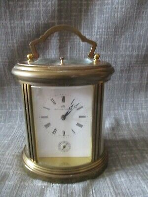 Matthew Norman 1751 Oval Striking Repeater Alarm Carriage Clock.