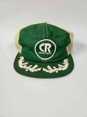 Vintage K-Brand CR Industries Snap Back Trucker Hat