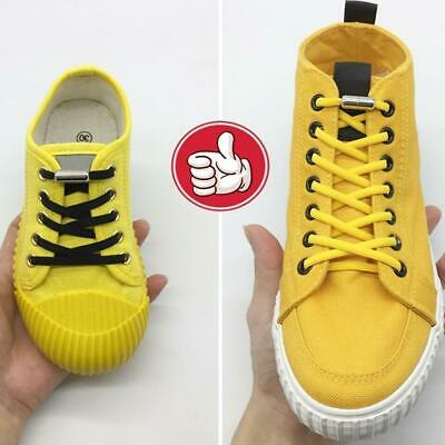 Lazy No Tie Elastic Silicone Shoe Lace For Adults Kids & Trainers Shoes C2S0