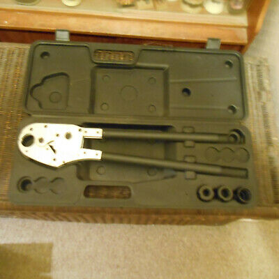 Jt 1626 Crimping Pliers Th 16 , Th 20 , Th 26 Dies In Box New Very Good Cond