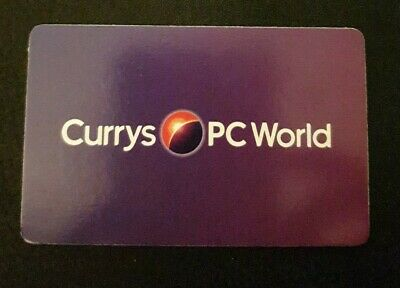 Currys pc world £50 gift card