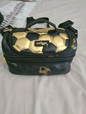 Smiggle Football LUNCH Bag** Great Condition