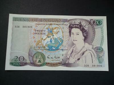 1988 Gill Twenty Pounds Note, Shakespeare £20, Uncirculated Duggleby Ref B355.