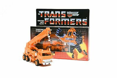 New TRANSFORMERS G1 Reissue Grapple Gift Kids Toy Action in stock