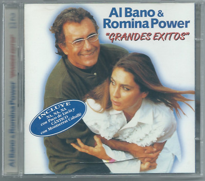 2xCD SPAIN NEW SEALED 1997 NUOVO AL BANO /& ROMINA POWER Grandes Exitos