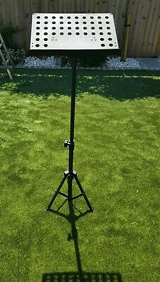 Sheet Music Stand, metal and adjustable. Great condition