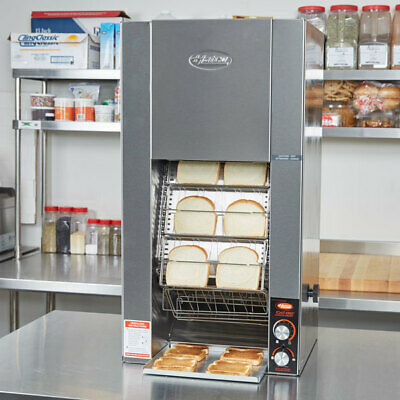 Hatco TK-72 Countertop Toast King Vertical Conveyor Bread or Bun Toaster