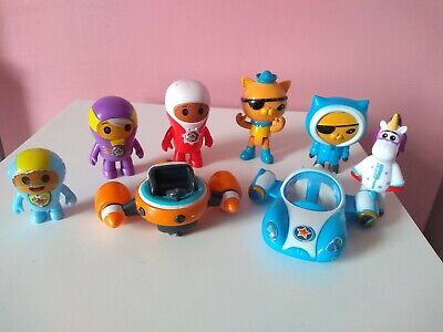 Go Jetters Octonauts Figures and vehicles Cake Toppers mattal cbeebies toys