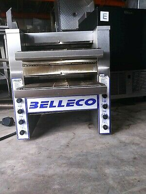 Belleco Toaster JT-4, Dual Conveyor, Stainless steel