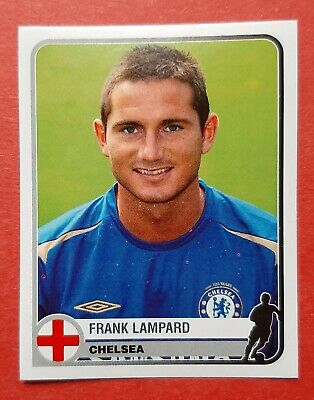 Panini Champions League 2005 Rookie Sticker Frank Lampard Chelsea