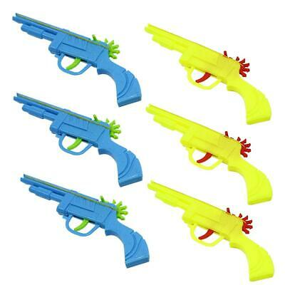 Plastic Rubber Band Gun Mould Hand Pistol Shooting Toy for Kids Playing Toy #8Y