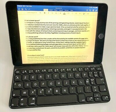 Logitech Ultra-Thin Clavier Housse Magnétique Clip-On Bluetooth iPad mini AZERTY