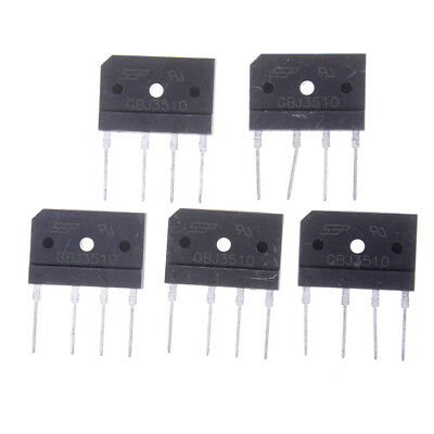 5 PCS GBJ3510 35A 1000 V Diode Bridge Rectifier QP ZC