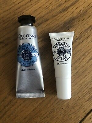 Details about Korres Olive Lip Balm 4g or Mint Tea Hand Cream 10ml Travel Sizes