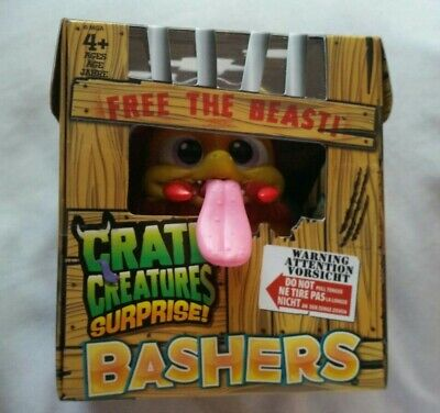 Brand new Crate Creatures surprise bashers with batteries inc Kids Toys Age 4+