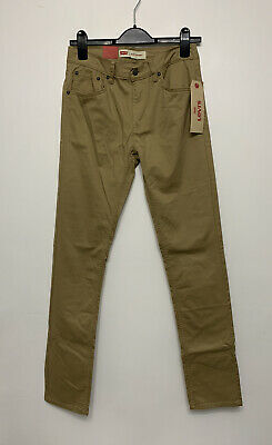 Levi's Boys Skinny Fit Jeans In Harvest Gold Size 16 Years