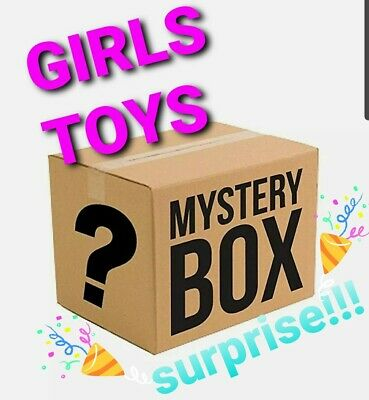 Box Of Great Mix Of Mystery Toys, Blind Bags, Collectible Figurines Box And More