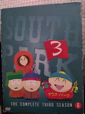 South park complete seasons 3 ,7&10 dvd cert 15 FREE Shipping great condition
