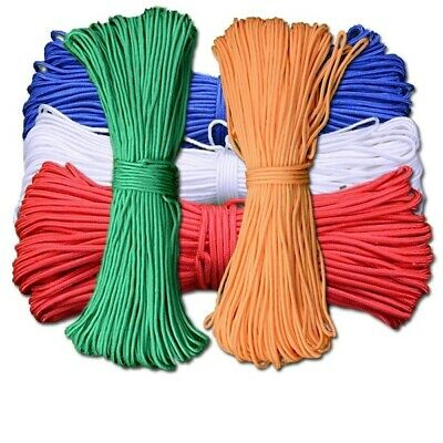 2mm Micro Cord Paracord Lanyard Rope Single Bushcraft Survival Outdoor 30m gel