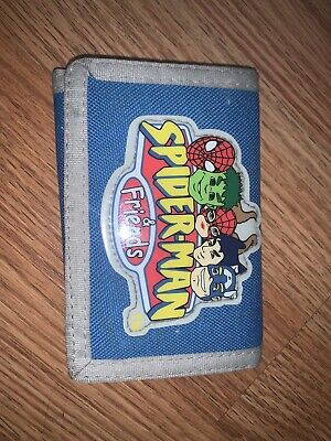 Vintage Marvel Spiderman And Friends Wallet