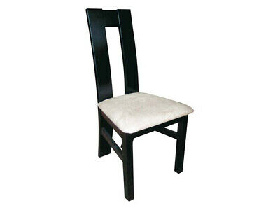 Design Lehn Chair Solid Wood Armchair Leather Pads Gastro Dining Room 229 18 Picclick Uk