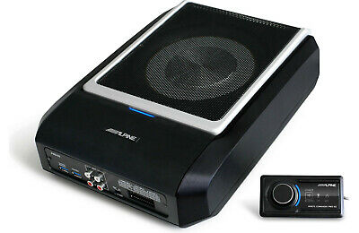 Alpine PWD-X5 Compact Power Subwoofer with digital signal processor