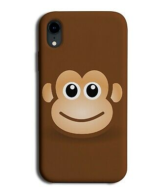 Funny Kids Monkey Face Phone Case Cover Monkeys Brown Chimp Childrens Smile si19