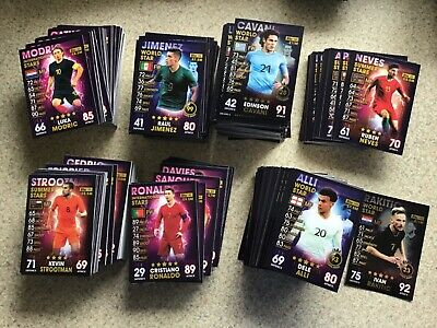 Match Attax 101 Season 2018/19. Bundle Of 50 Random Cards. No Doubles. Mint.