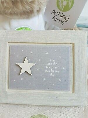 East of India Feathers Will Appear.. Aching Arms Baby loss Wooden Frame