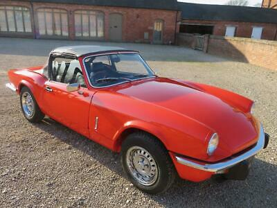 Triumph Spitfire 1500 1981 Un-Restored Original Condiion 63K From New