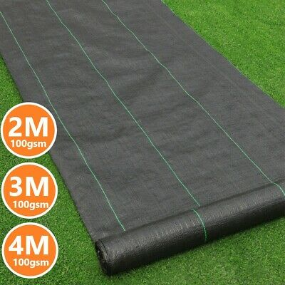 Weed Control Fabric Heavy Duty Membrane Garden Ground Cover Mat Landscape Sheet