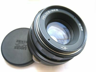 Helios 44M 58mm F2 Mount M42 with adapter for Canon, Nikon, Sony, fuji