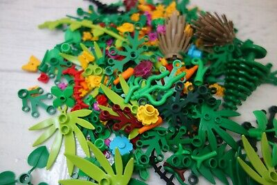 LEGO Foliage Pack 20 x Mixed Garden Accessories LEGO Flowers Stem Plants Trees