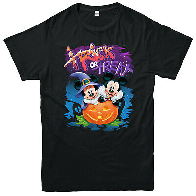 Mickey Mouse squelette pull Halloween Effrayant Citrouille Horreur Mickey Mouse Top