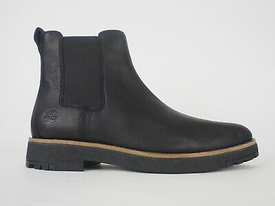 Tradicion tener sencillo  MENS TIMBERLAND FOLK Gentleman Chelsea A27SK Black Leather Pull On Boots -  £55.00 | PicClick UK