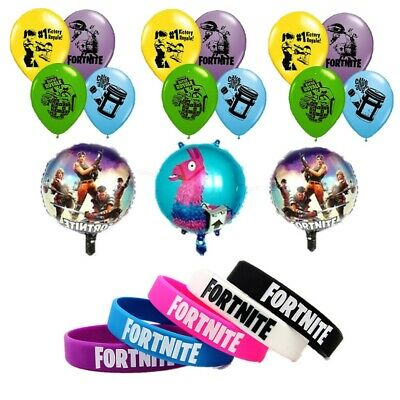 Fortnite Birthday Party Bag Fillers and Decorations