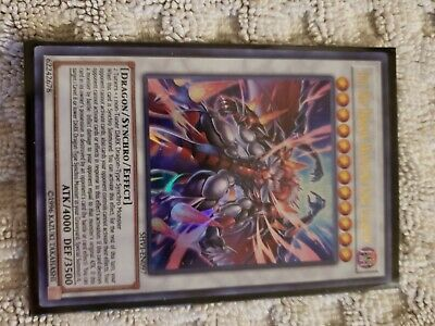 Hot Red Dragon Archfiend King Calamity Unlimited Ultra Rare SHIV