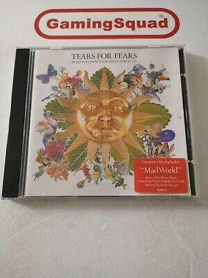 Tears for Fears, Tears Roll Down Greatest Hits CD, Supplied by Gaming Squad