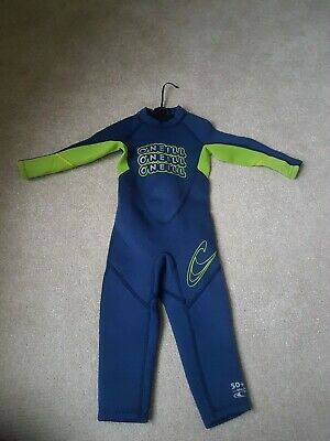 Oneill Toddler Wetsuit Size 1