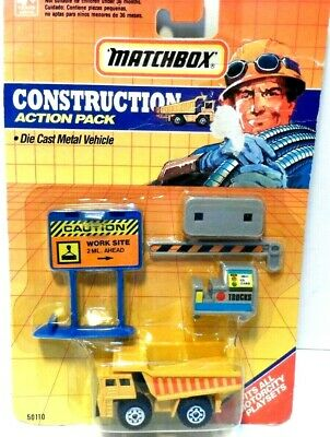 MATCHBOX CONSTRUCTION ACTION PACK FITS ALL MOTORCITY PLAY SETS NEW in BLISTER
