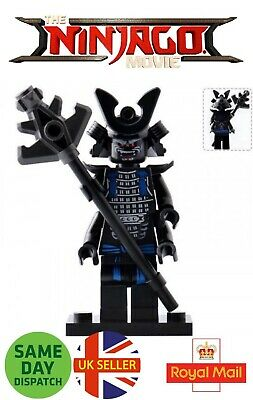 Ninjago Lord Garmadon Mini Figure 4 Arms Samurai Swords Four Ninja UK Seller