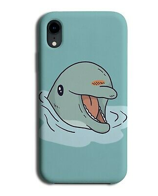 Funny Dolphin Face Out Of Water Phone Cover Case Cute Kids Childrens J292