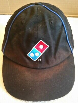 DOMINO/'S PIZZA EMPLOYEE WORKER VISOR CAP HAT ONE SIZE SHIP TO WORLDWIDE!!!!