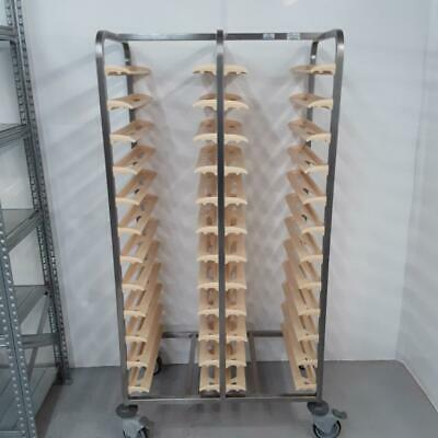 Commercial Clearing Trolley Double Tray Canteen Bourgeat