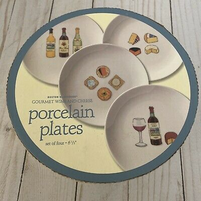 4 Cocktails Picks EasyLife Gourmet Set with Porcelain Platter 2 Cheese Knives