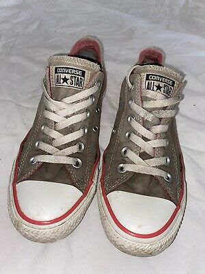 STAR Low Trainers Grey Pink Size